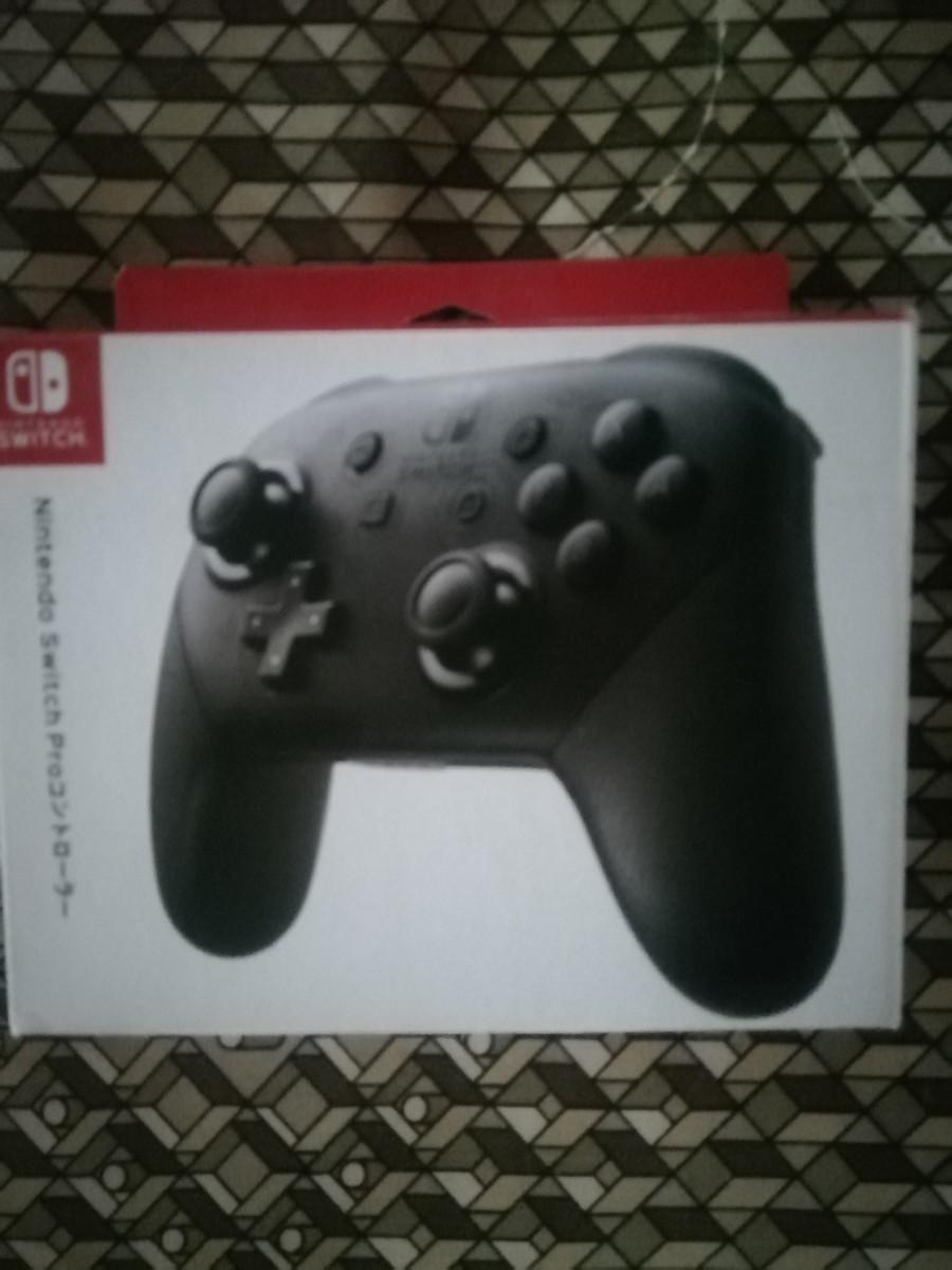 Nintendo Switch プロコン 新品未開封