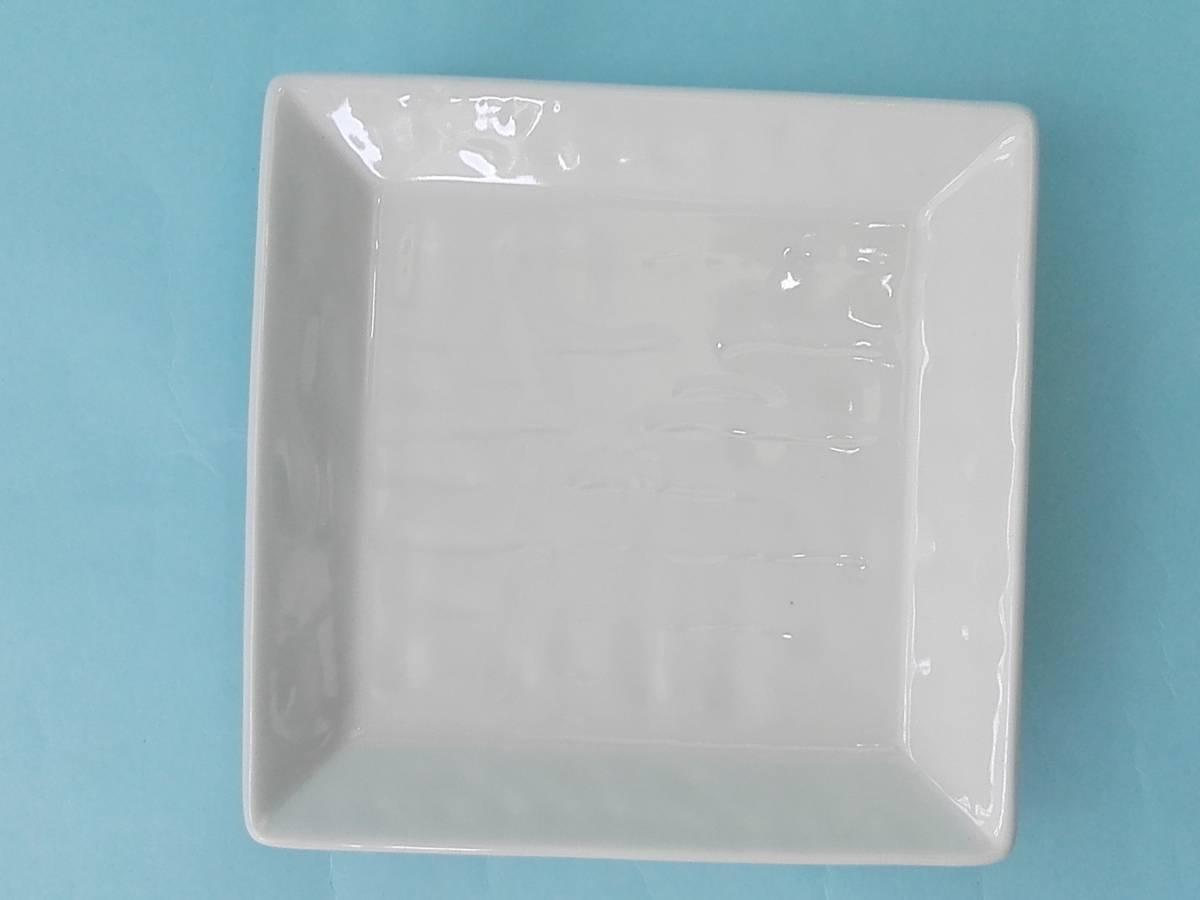 美濃焼 白釉 角銘々皿 皿 小皿 10枚 まとめ売り 未使用_画像3
