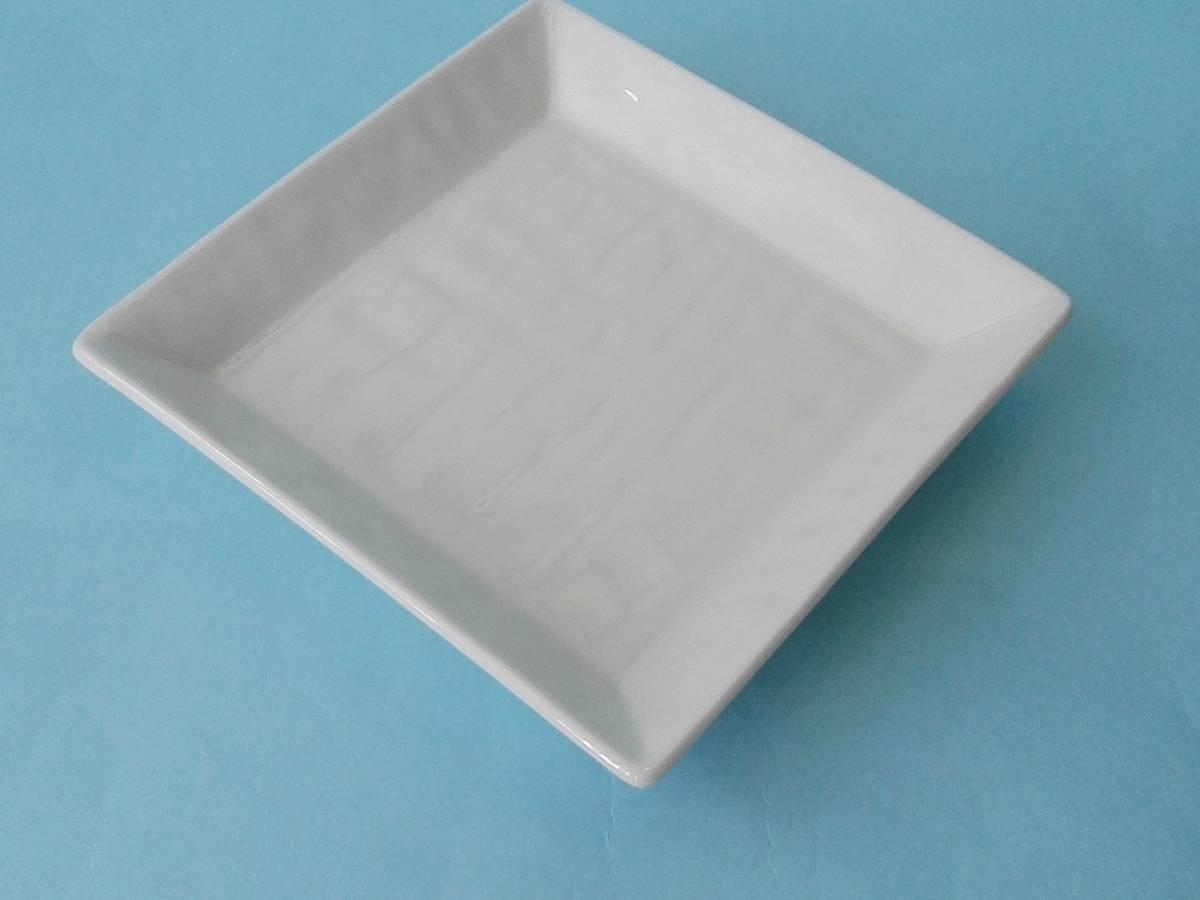 美濃焼 白釉 角銘々皿 皿 小皿 10枚 まとめ売り 未使用_画像7