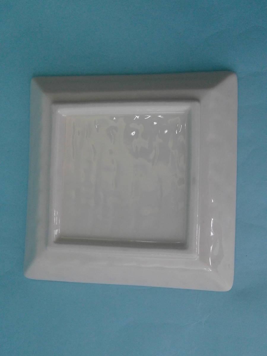 美濃焼 白釉 角銘々皿 皿 小皿 10枚 まとめ売り 未使用_画像4