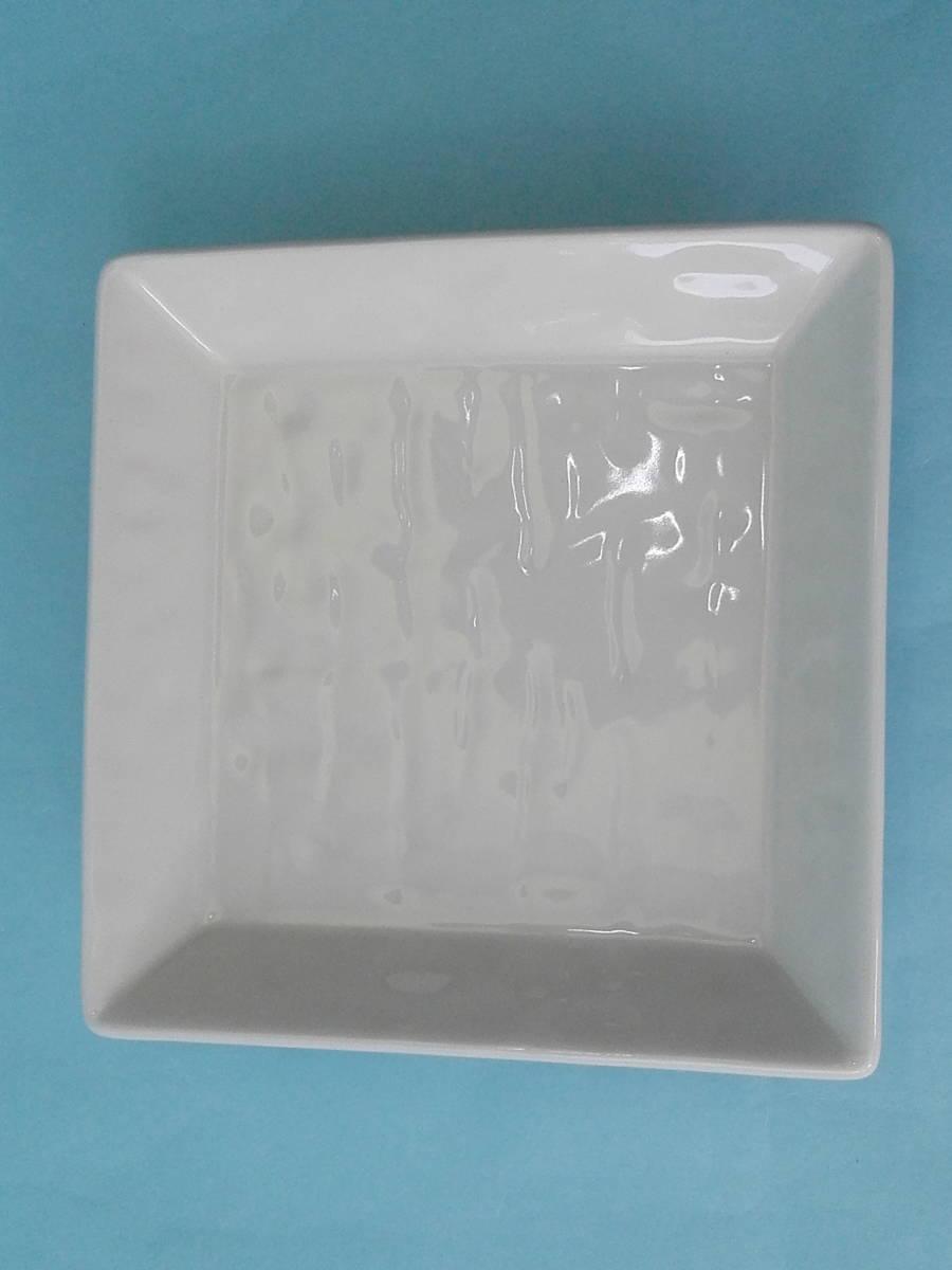 美濃焼 白釉 角銘々皿 皿 小皿 10枚 まとめ売り 未使用_画像6