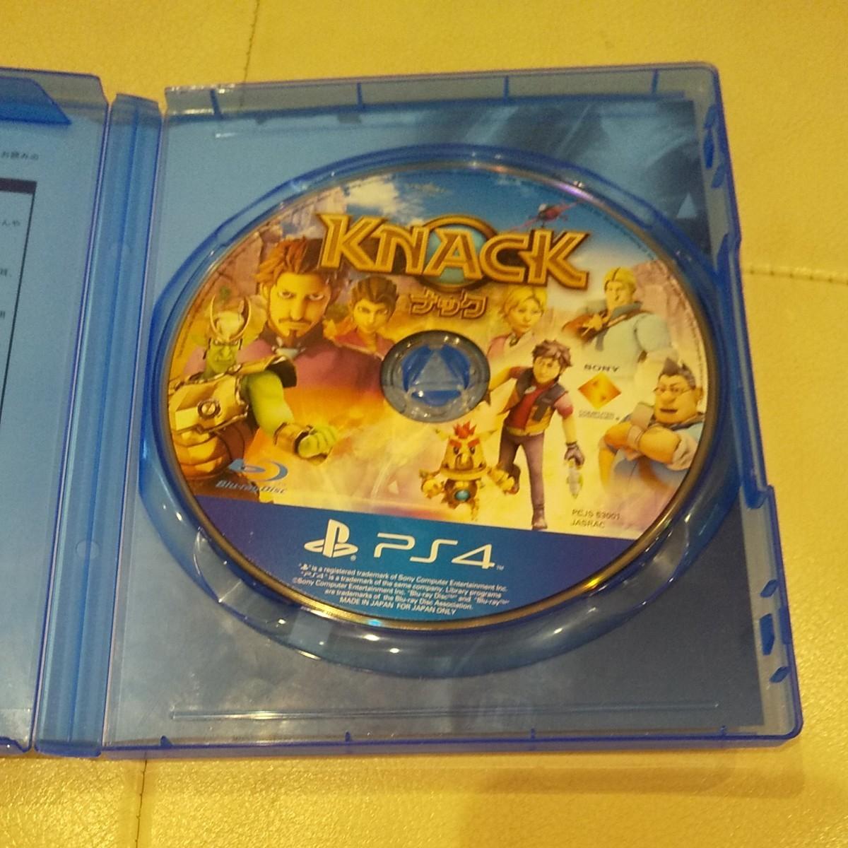 PS4ソフト ナック knack