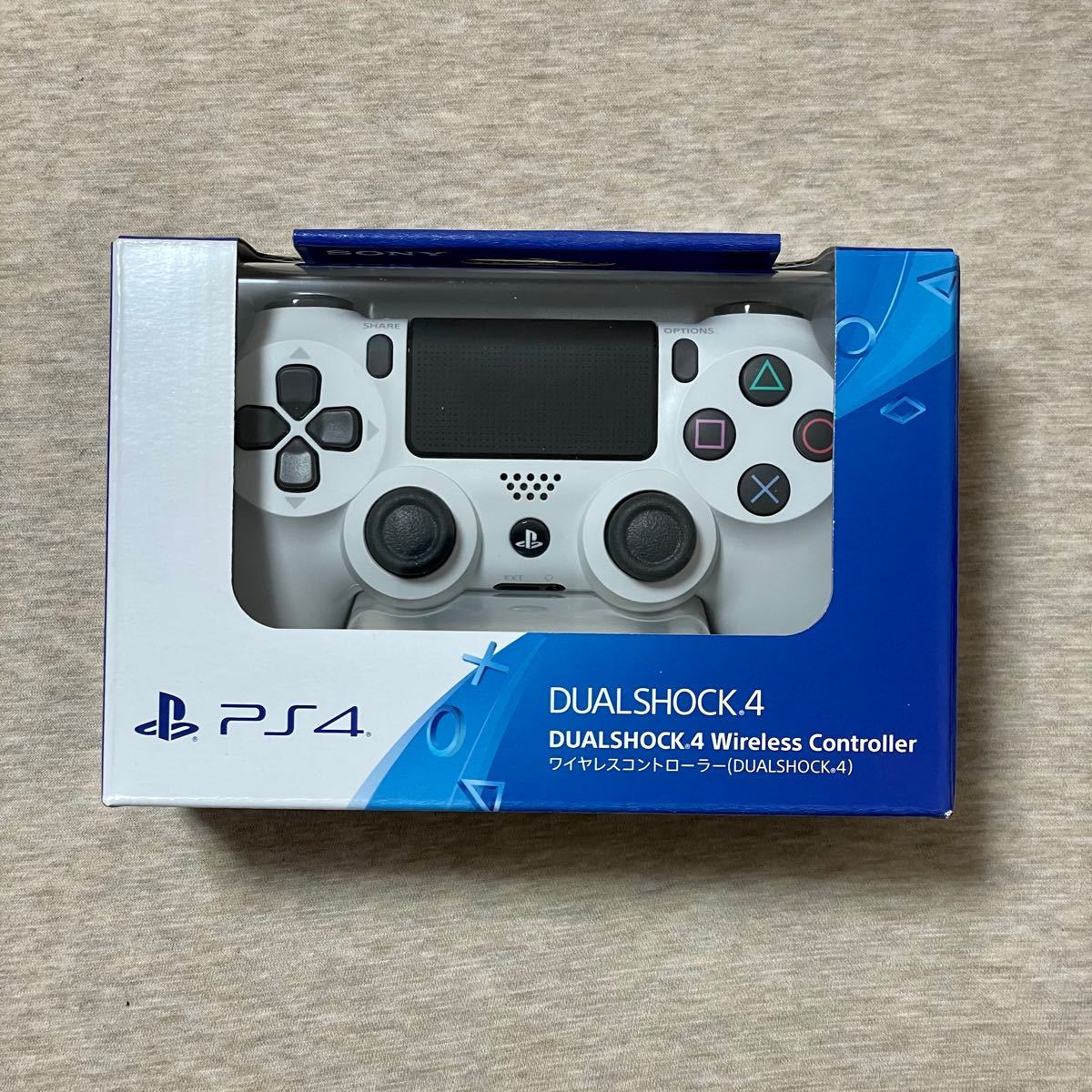 PS4 ワイヤレスコントローラー DUALSHOCK 4 グレイシャー ホワイト