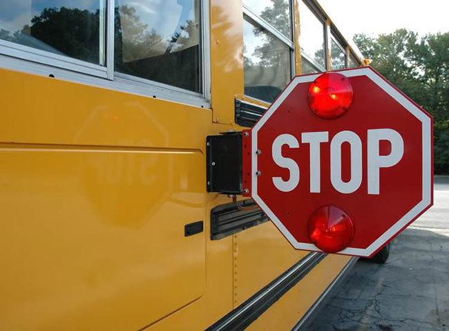 ★激レア★スクールバス ストップ サイン★STOP sign school bus★アメリカ US 標識 看板 ビンテージ 当時物 雑貨 ガレージ 世田谷ベース_参考画像になります。