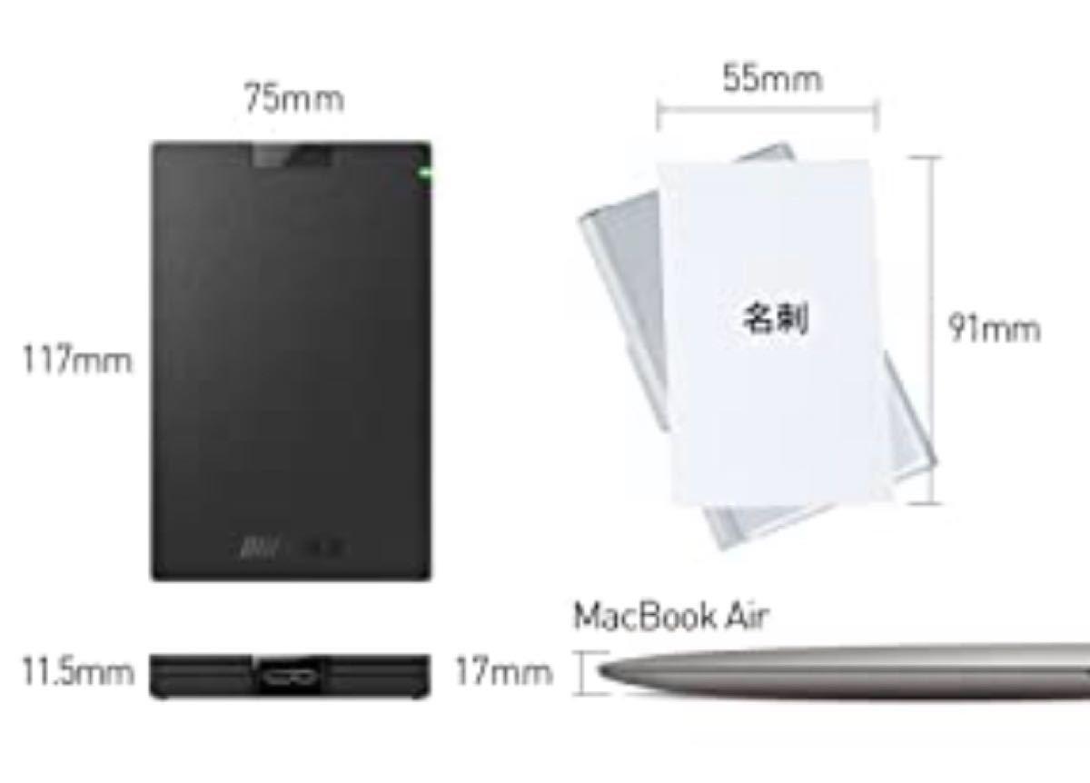 【新品未開封】BUFFALO SSD 1TB USB3.1Gen1 ポータブルSSD 日本製 PS5/PS4 動作確認済