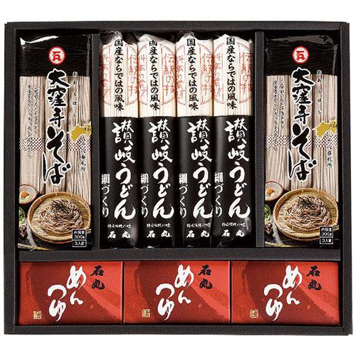 石丸製麺 うどん・そば詰合せ「技麺」 TU-6 9116-011(l-4901166007666)_画像1