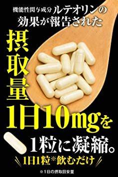 尿酸ケア習慣 ルテオリン (1ヶ月分) 機能性表示食品 田七人参 和漢の森 尿酸値を下げる プリン体_画像6