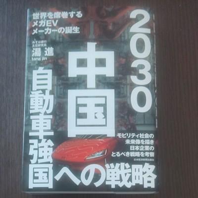 【送料無料】2030 中国自動車強国への戦略  みずほ銀行主任研究員  湯進  tang jin  日本経済新聞出版社