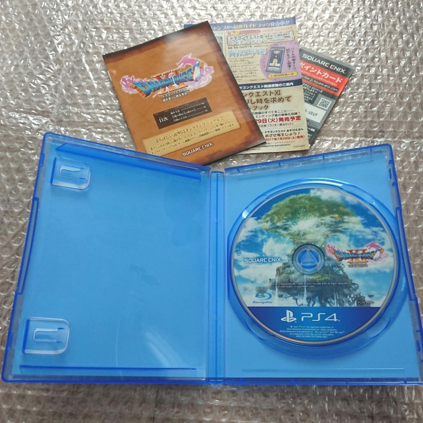 PS4  ドラゴンクエスト11  過ぎ去りし時を求めて  ドラクエ11 中古良品