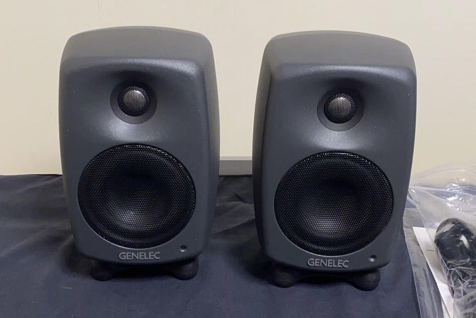 GENELEC 8020D ペア シリアル連番 モニタースピーカー ジェネレック 参考価格121000円