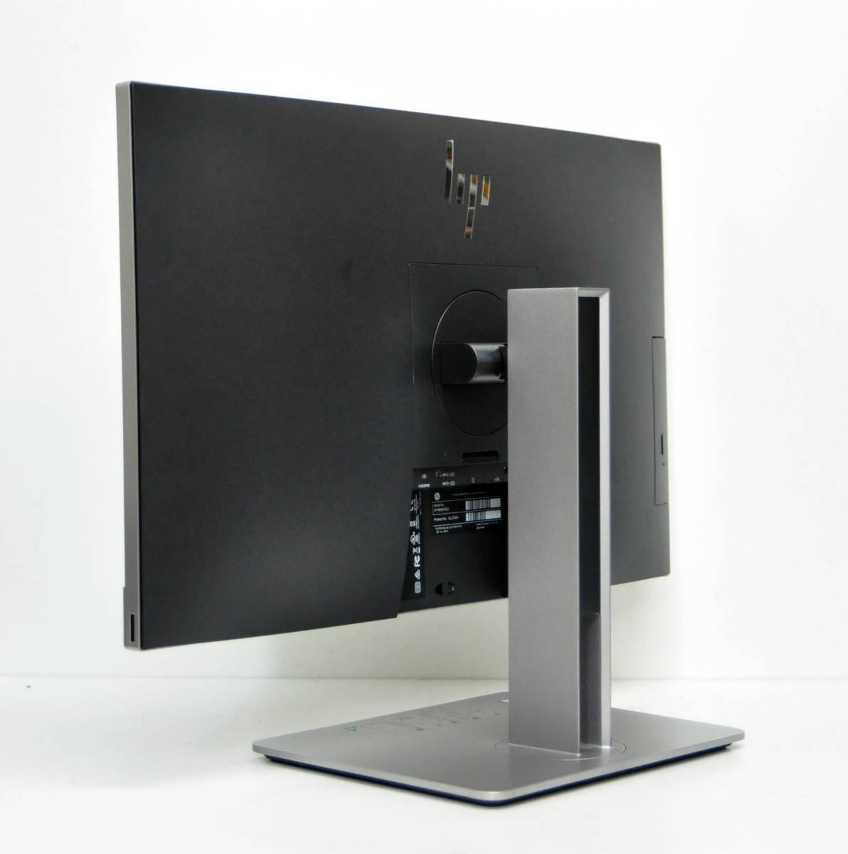 美品 HP EliteOne 800 G4 All-in-One フルHD 一体型 第8世代 Corei5-8500/メモリ8GB/SSD256GB NVMe/カメラ/無線/マルチ/Office2019/Win10. _画像3
