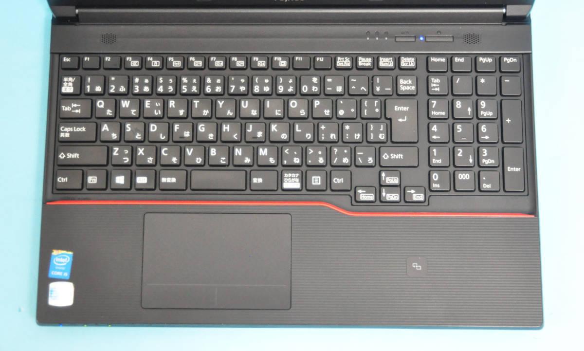 ★ 良品 上位モデル 富士通 A574/K ★ Core i5-4310M / メモリ8GB / 新品SSD:240GB / Wlan / テンキー / Office2019 / Win10_画像2