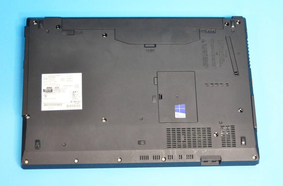 ★ 良品 上位モデル 富士通 A574/K ★ Core i5-4310M / メモリ8GB / 新品SSD:240GB / Wlan / テンキー / Office2019 / Win10_画像6