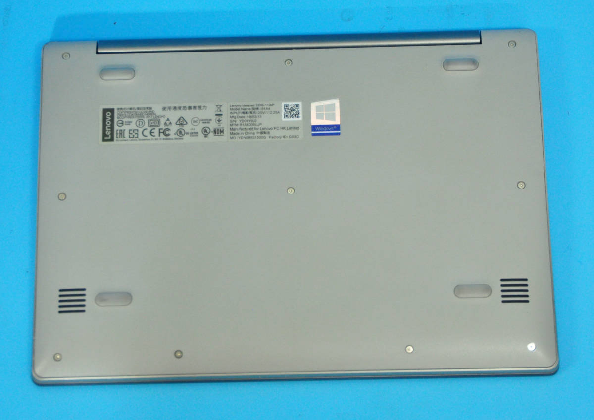 ♪ 上位モデル Ideapad 120S ♪ Dual-Core Celeron N3350/ メモ4GB/ SSD:256GB/ カメラ/ Wlan/ Office2019/ Win10_画像4