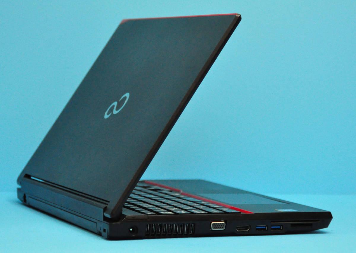 ★ 良品 上位モデル 富士通 A574/K ★ Core i5-4310M / メモリ8GB / 新品SSD:240GB / Wlan / テンキー / Office2019 / Win10_画像4