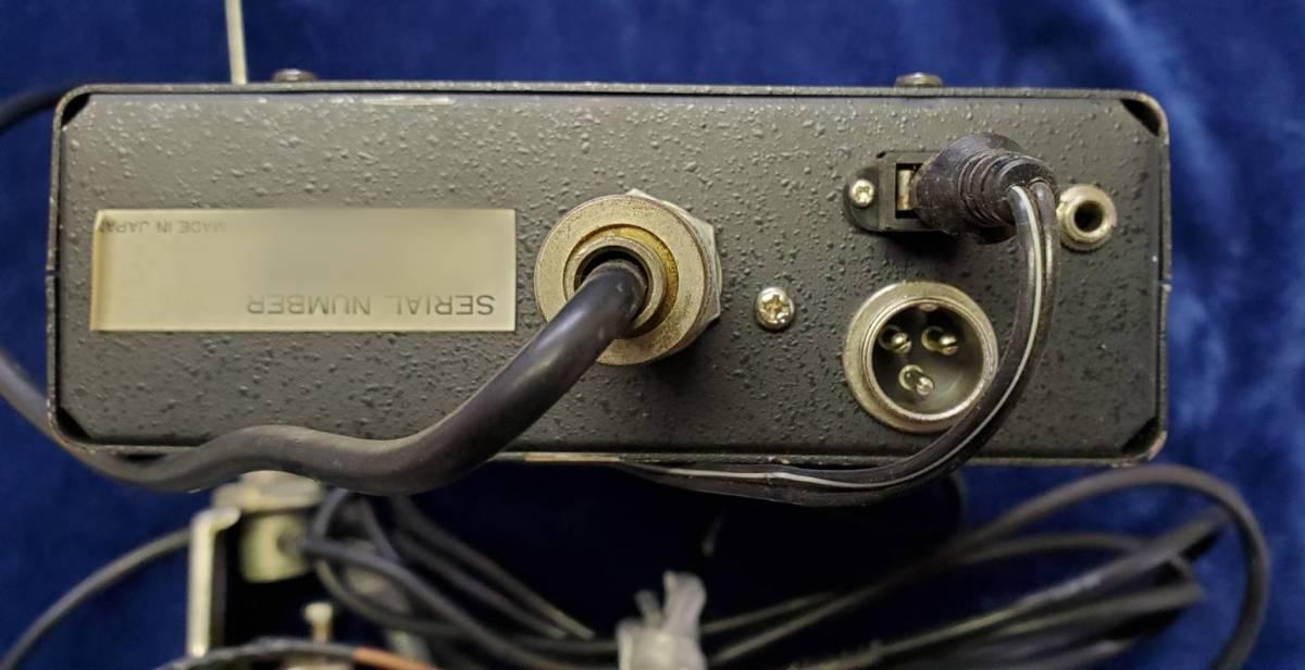 VHF/FMレシーバー TM56B アンテナ付 ALPHA 消防無線 _画像3