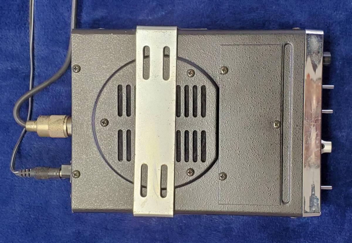 VHF/FMレシーバー TM56B アンテナ付 ALPHA 消防無線 _画像4