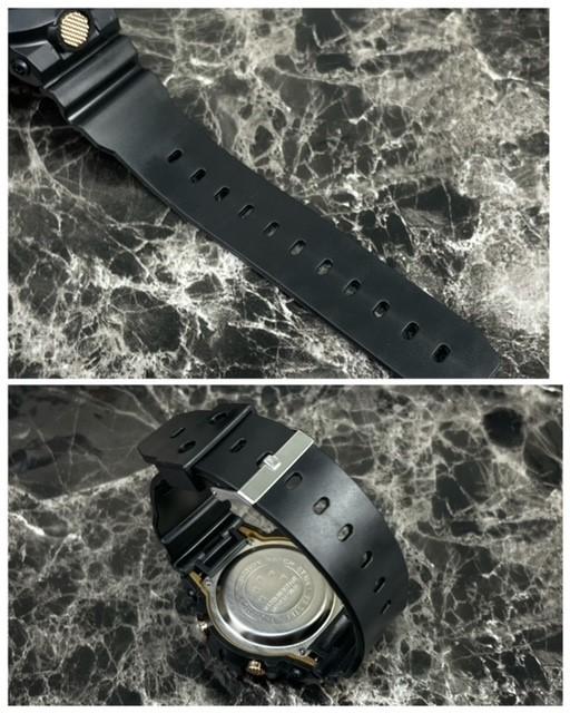 スポーツ腕時計 LED デジタル 腕時計 時計 ミリタリー 自転車 スポーツ アウトドア キャンプ 男女兼用 ランニング ブラック 22_画像6