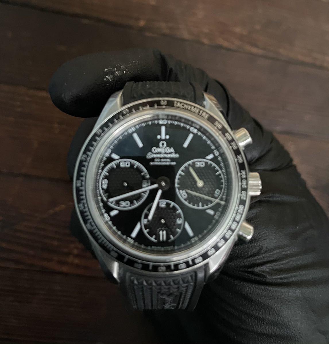 オメガ スピードマスター レーシング 自動巻き メンズ腕時計