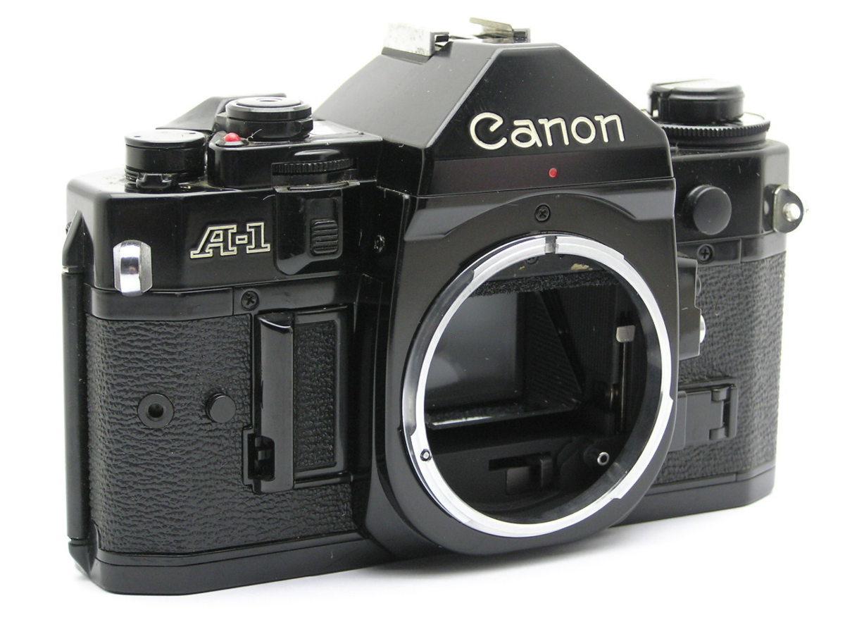 ★ハローカメラ★ 8858 Canon A-1 ボディのみ メーター表示するが 作動せず ジャンク 1円スタート
