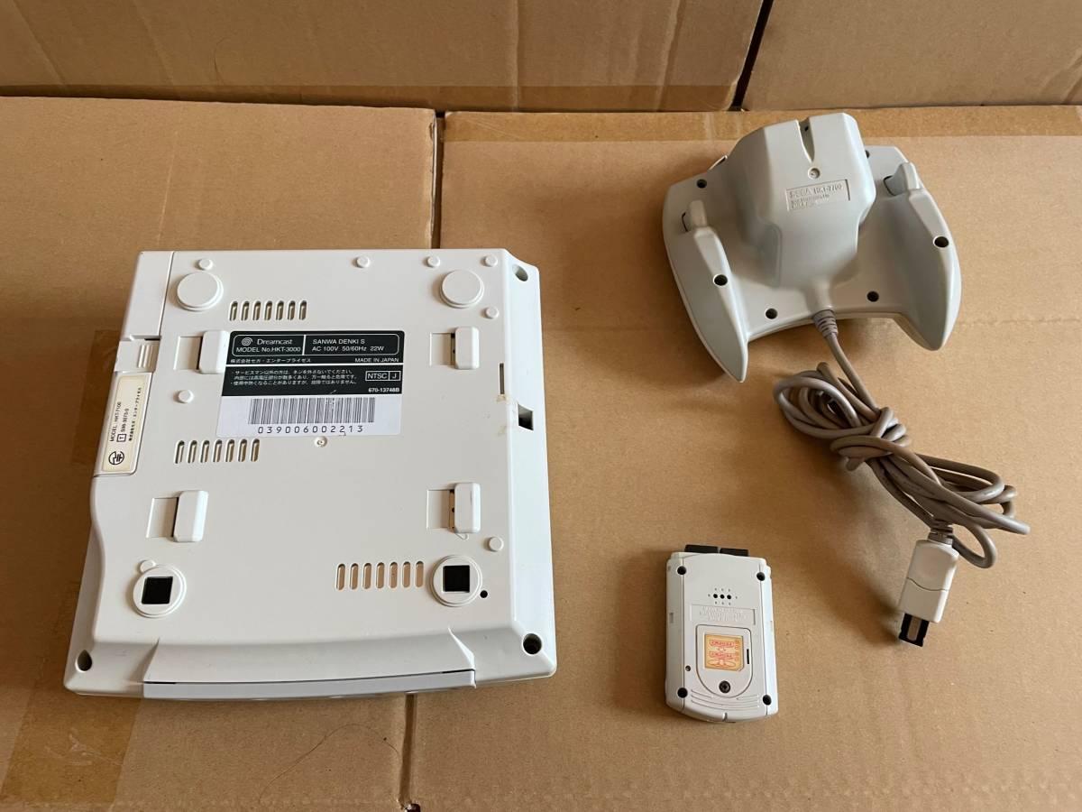 SEGA セガ ドリームキャスト Dreamcast HKT-3000 コントローラーHKT-7700 HKT-7000 3点セット_画像2