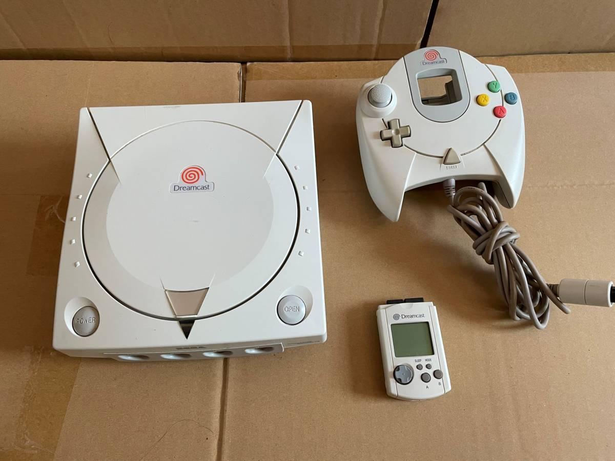 SEGA セガ ドリームキャスト Dreamcast HKT-3000 コントローラーHKT-7700 HKT-7000 3点セット_画像1
