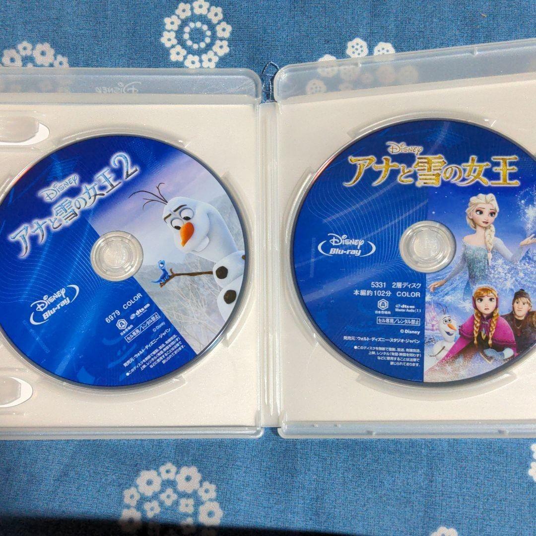 アナと雪の女王1+2 Blu_ray 純正ケース入り
