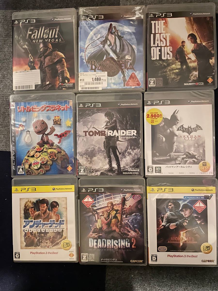 PS3 ソフト9本セット
