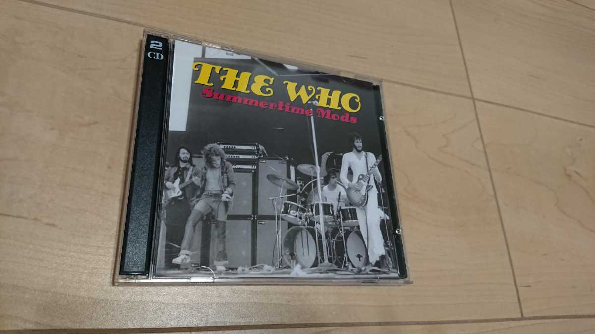 ★THE WHO ザ・フー★Summertime Mods ★2枚組コレクターズCD ★中古品