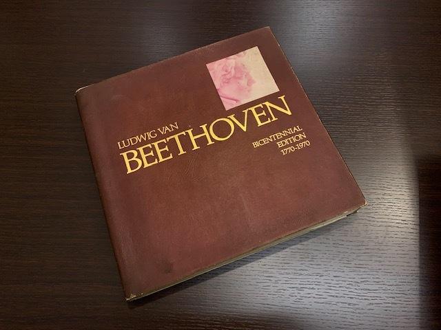 古書 ベートーヴェン LUDWIG VAN BEETHOVEN BICENTENNIAL EDITTON 1770-1970 個人保管_画像1