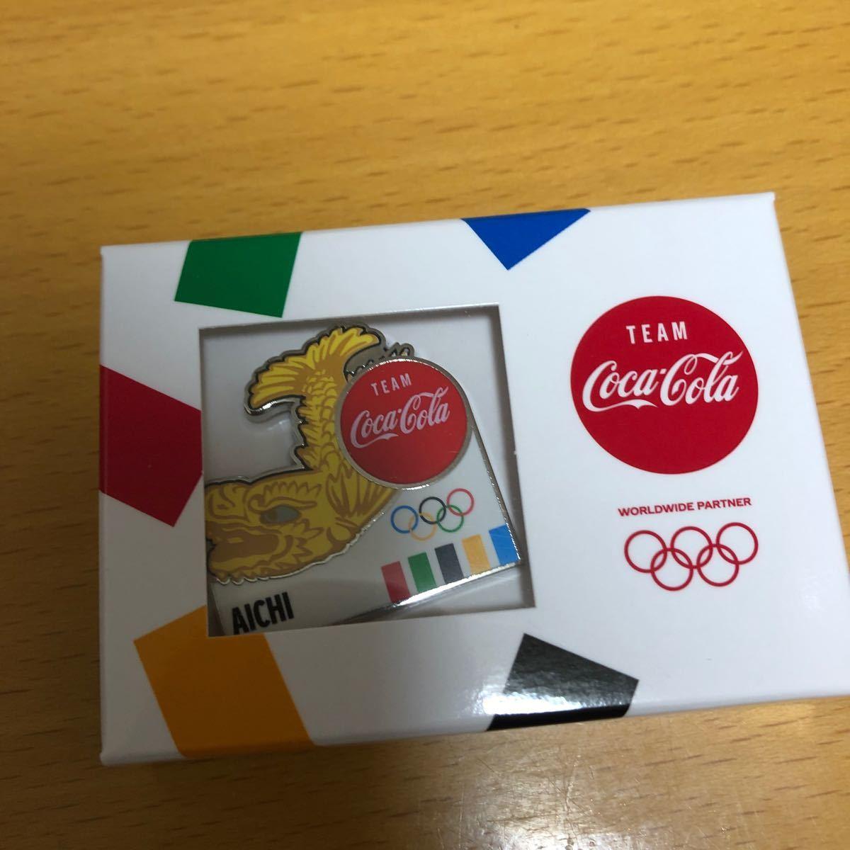 東京オリンピック コカ・コーラ 聖火リレーピンバッジ 愛知県