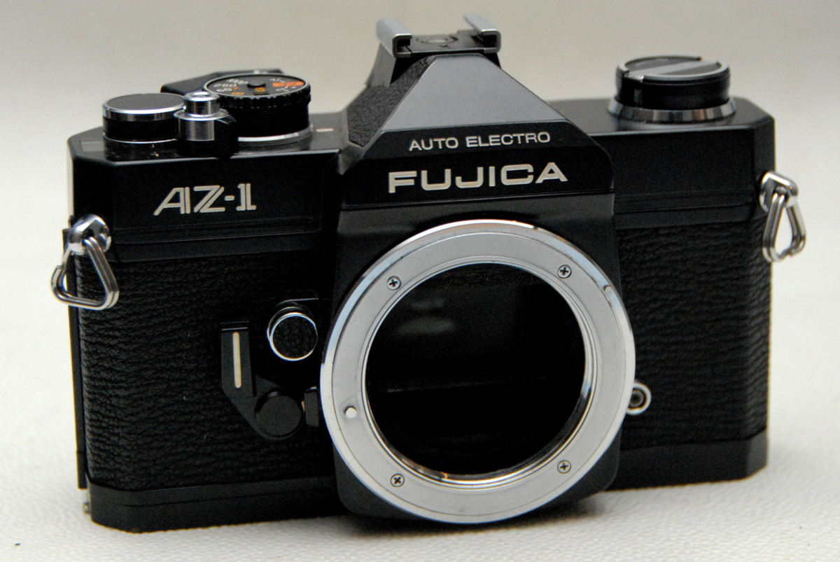 FUJICA フジカ製 M42マウント専用 昔の一眼レフカメラ AZ-1黒ボディ 超希少な作動品 (腐食無し)