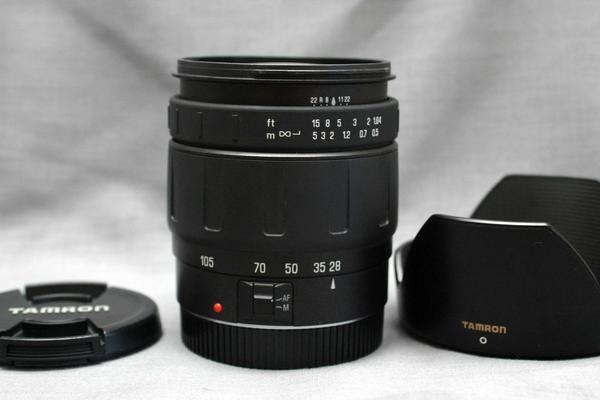 Canon キャノン EOS専用 28-105mm オートフォーカス高級ズームレンズ 希少・作動品