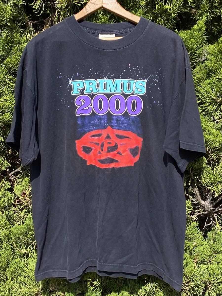 ビンテージ PRIMUS 2000 Tシャツ◆XL◆1999年製◆プライマス◆ロックバンドTシャツ◆USA購入◆送料無料!
