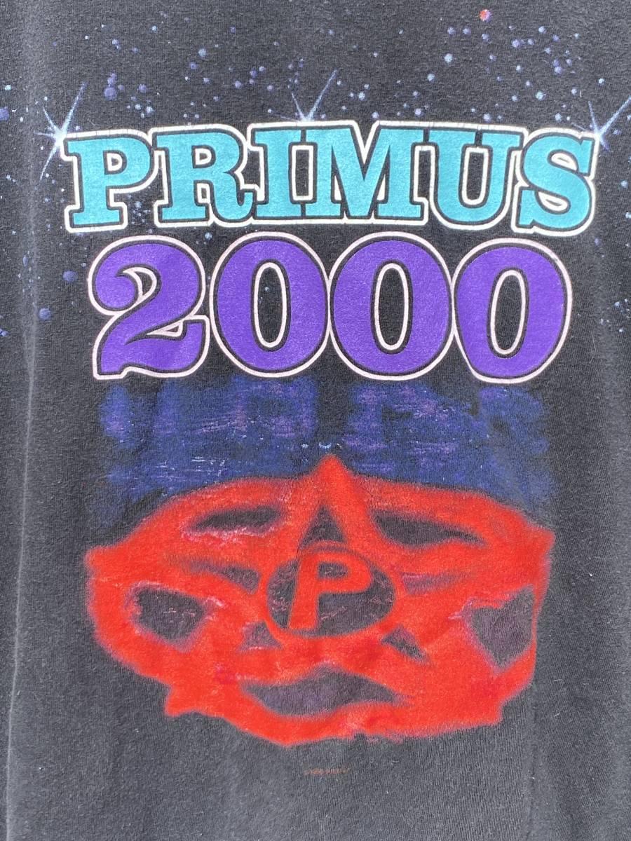 ビンテージ PRIMUS 2000 Tシャツ◆XL◆1999年製◆プライマス◆ロックバンドTシャツ◆USA購入◆送料無料!_画像2