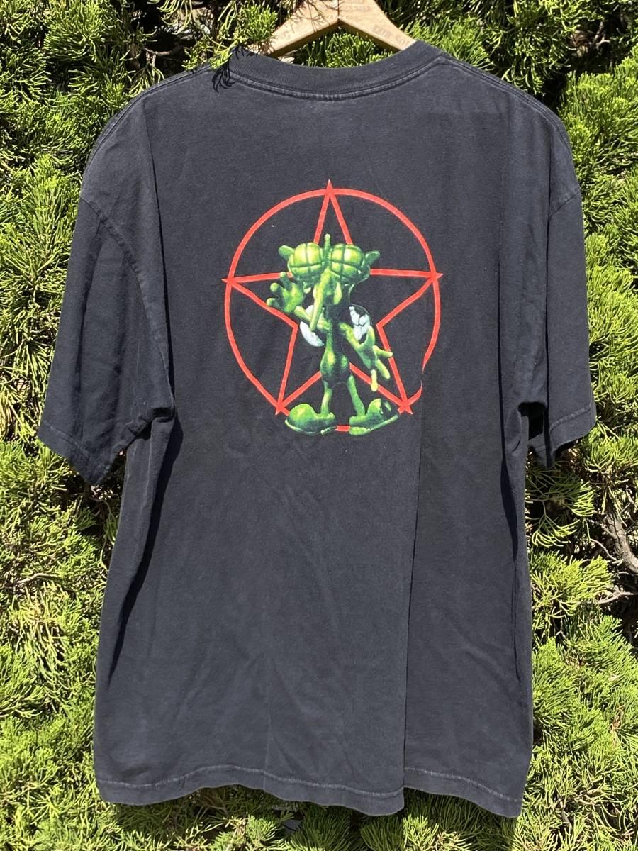 ビンテージ PRIMUS 2000 Tシャツ◆XL◆1999年製◆プライマス◆ロックバンドTシャツ◆USA購入◆送料無料!_画像4