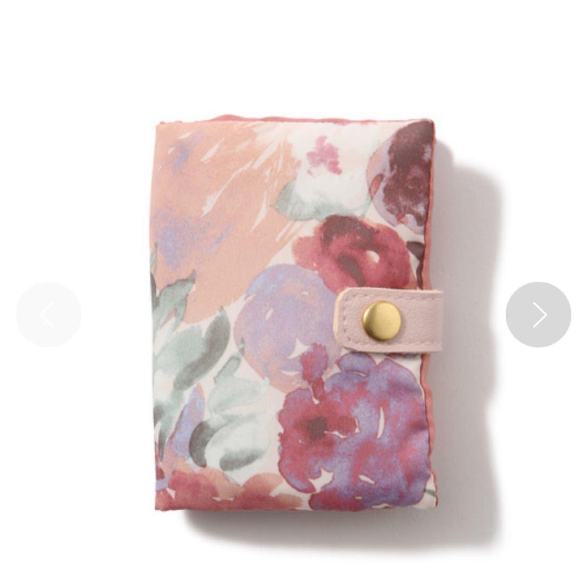 フランフラン アクセサリーポーチ 花柄 ピンク フラワー