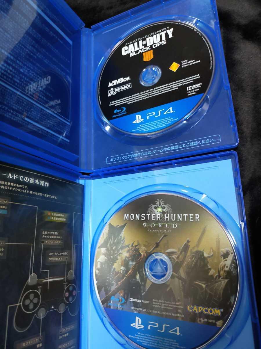 コールオブデューティ ブラックオプス4 モンスターハンターワールド PS4