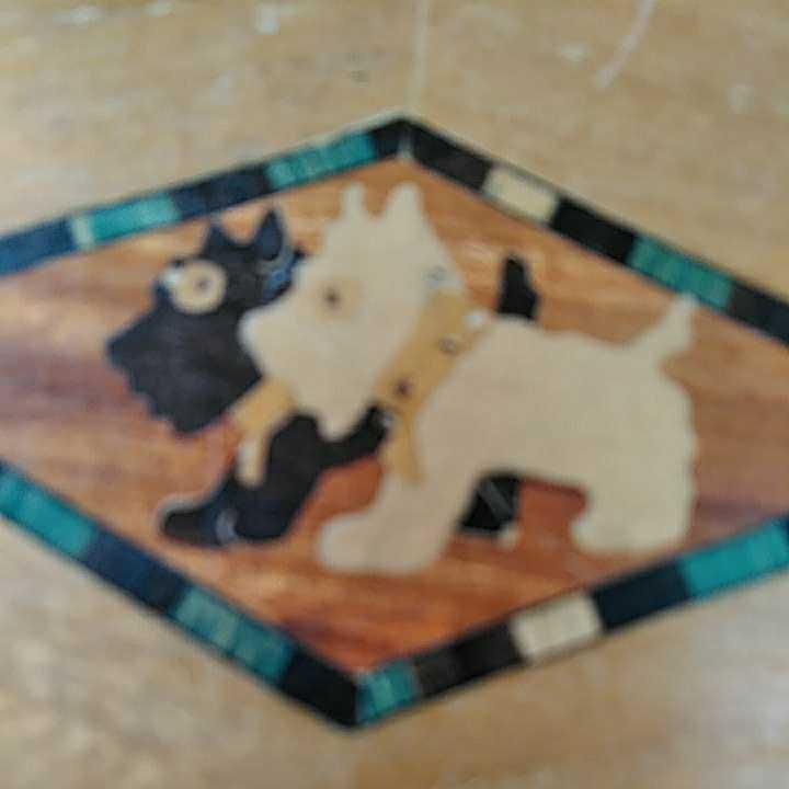 ヴィンテージ 箱根細工 2個 寄木細工 木製 伝統工芸品 小物入 _画像4