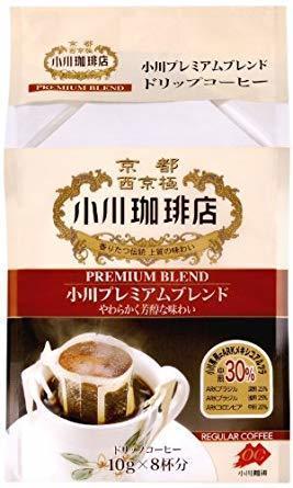 小川珈琲 小川プレミアムブレンド ドリップコーヒー 8杯分×3個_画像1