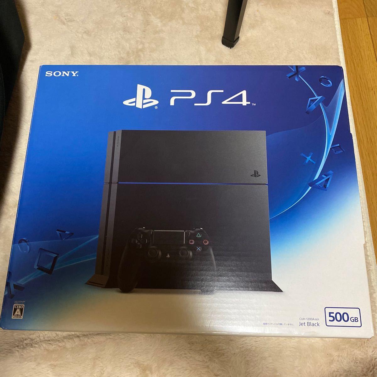 PlayStation4 ジェット・ブラック SSD500GB CUH-1200AB01