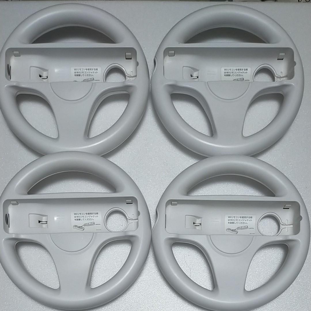 Wiiハンドル 純正品 ホワイト 4セット