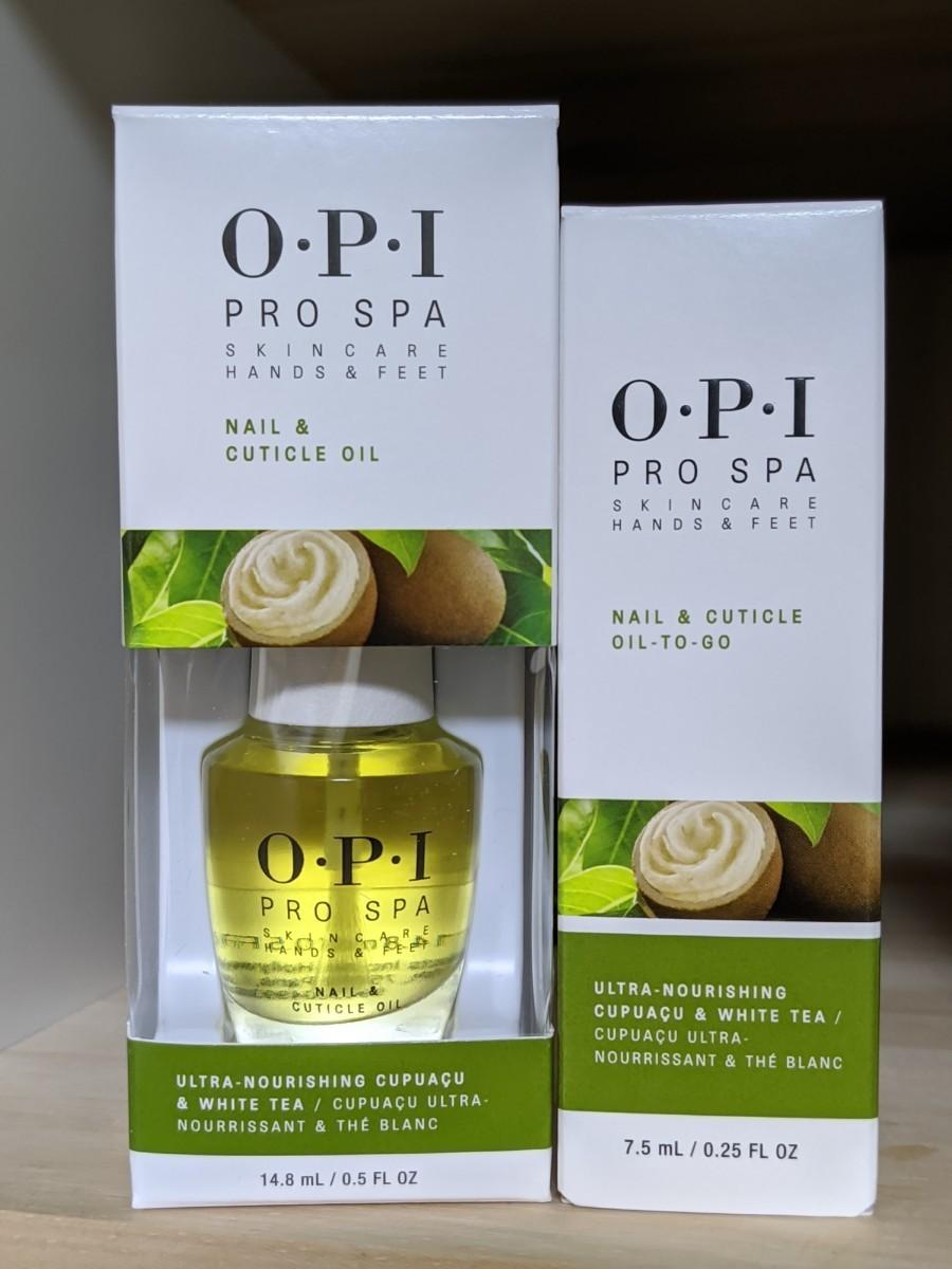 OPI プロスパキューティクルオイル & ネイル&キューティクルオイル トゥゴー Pro Spa Cuticle Oil .5oz