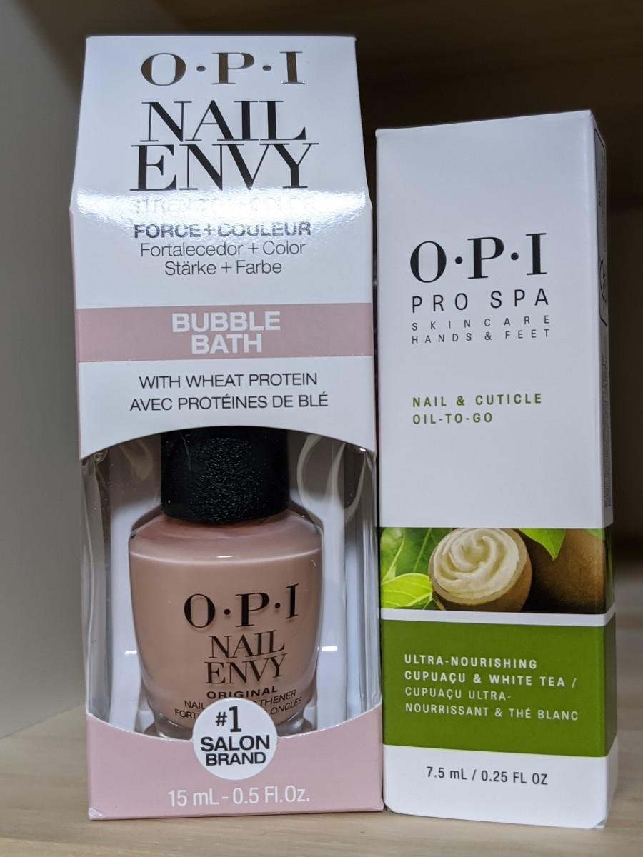 OPI エンビーバブルバス & プロスパ ネイル&キューティクル オイル トゥゴー Bubble Bath Oil To Go
