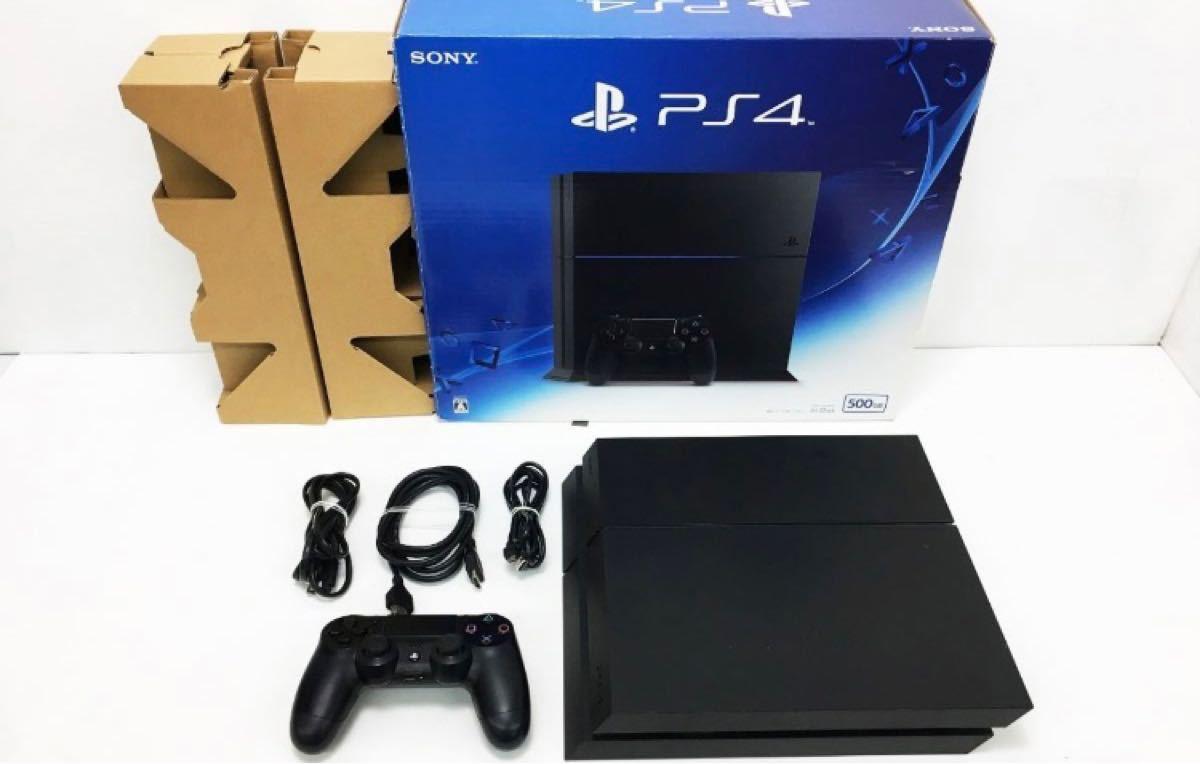 (最終値下げ)PS4 ジェット・ブラック ゲーム機本体 初期化動作確認済み