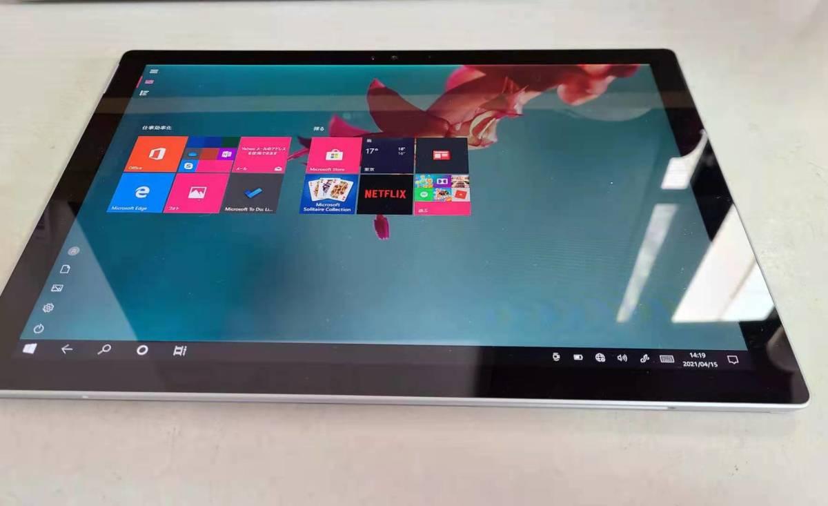 8ジャング品 Microsoft SurfacePro4 /i5-6300U 2.4GHZ/Windows 10/メモリ8GB/ SSD256GB/