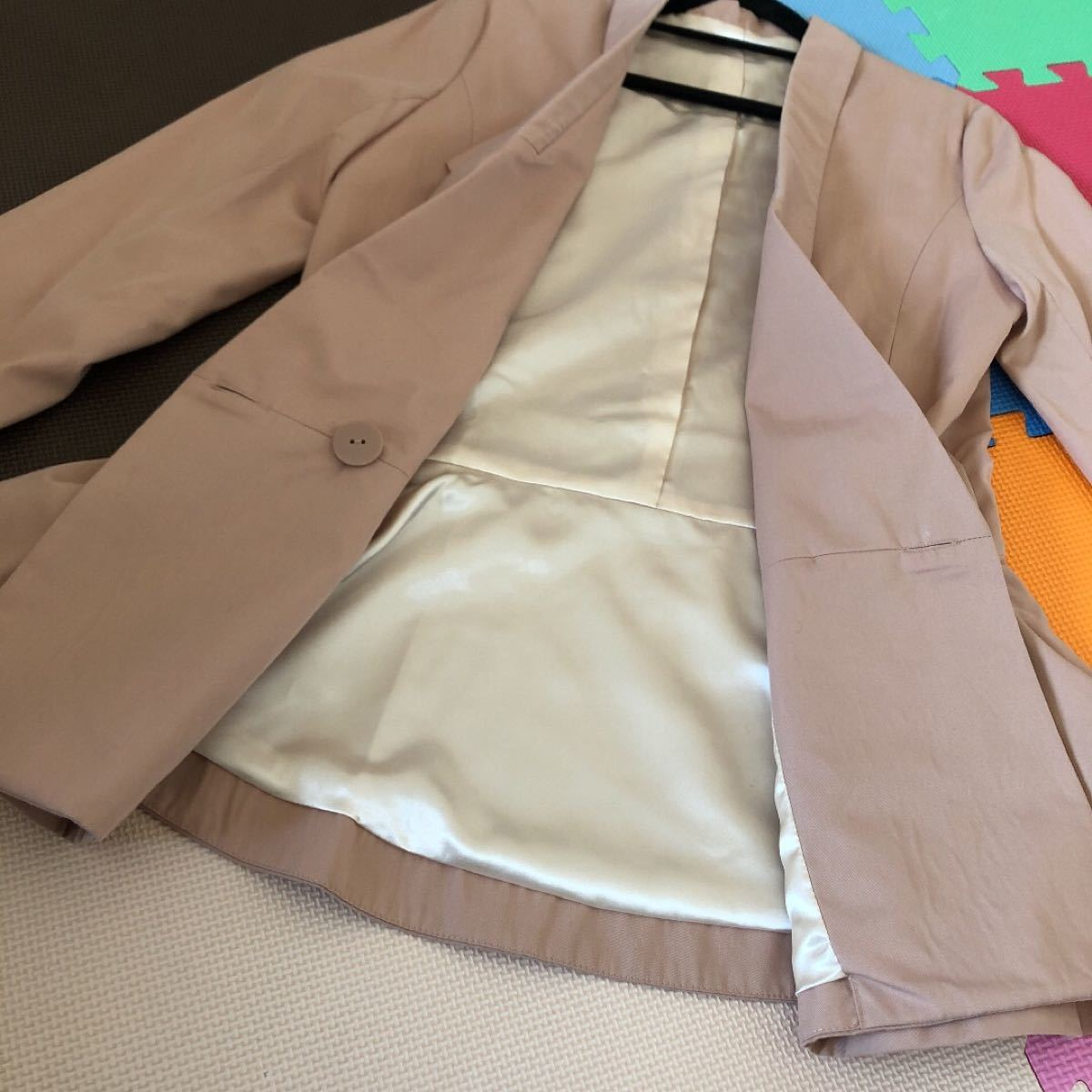 ジャケット スプリングジャケット  テーラードジャケット