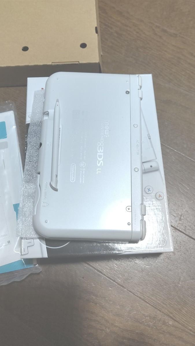 パールホワイト Newニンテンドー3DS LL