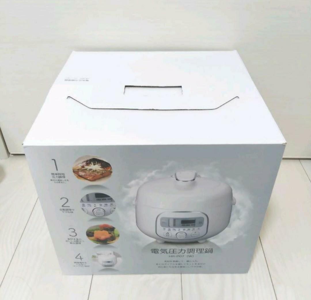 ★新品★電気圧力調理鍋 HR-P07 W