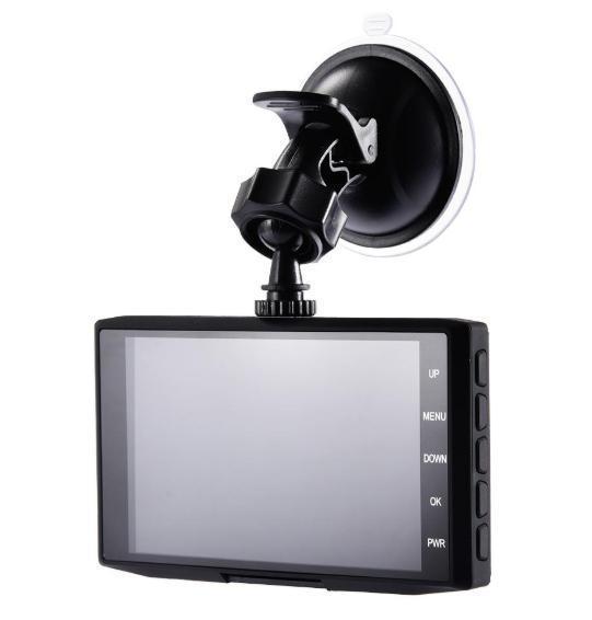 ドライブレコーダー 前後2カメラ 車載カメラ Gセンサー 1080P フルHD 駐車監視 モーション検知 ナイトビジョン ブラック_画像8